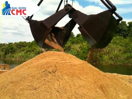 Phân phối cát vàng xây dựng tại Sài Gòn CMC - - SÀI GÒN CMC