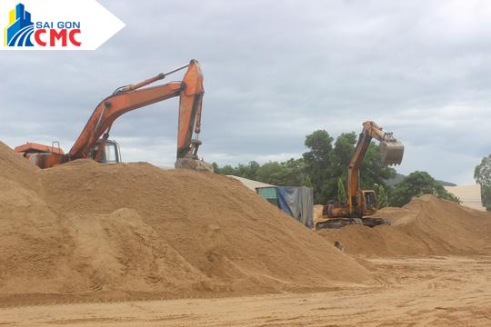 Mua cát san lấp tại tp hcm - Công Ty CP VLXD Sài Gòn