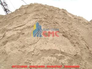 Thành phần của cát xây dựng