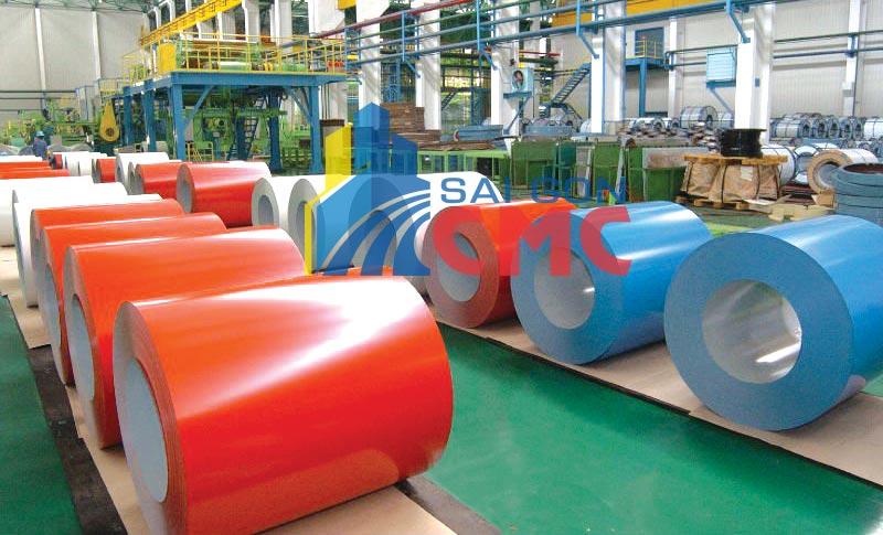 Quy trình sản xuất tôn mạ màu