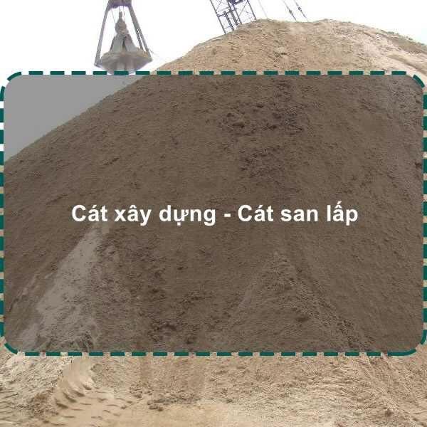 cát xây dựng | cát san lấp