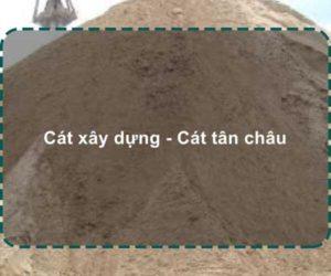 cát xây dựng | cát tân châu