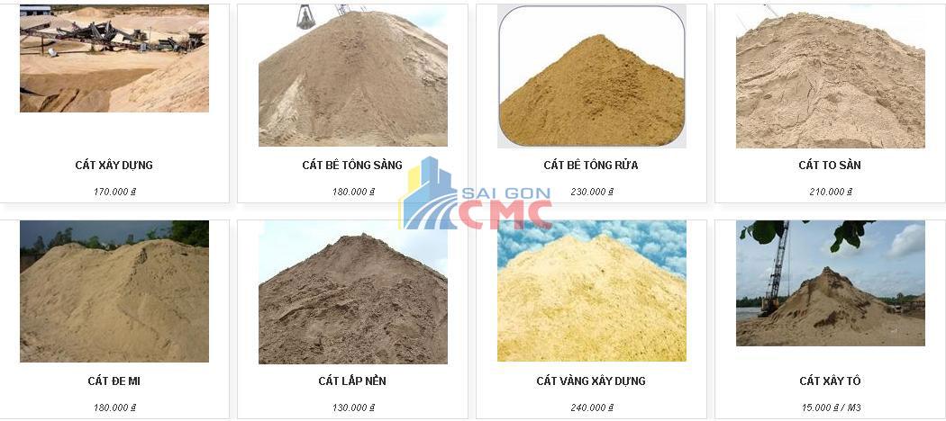 Chất lượng cát đá xây dựng đạt chuẩn tại kho hàng Sài Gòn CMC ...