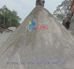 cát xây dựng
